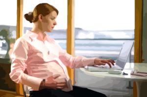 ликвидация фирмы с беременной сотрудницей