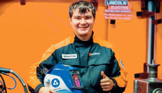Вадим Миндигалиев из Озерска на чемпионате сварщиков EuroSkills 2016