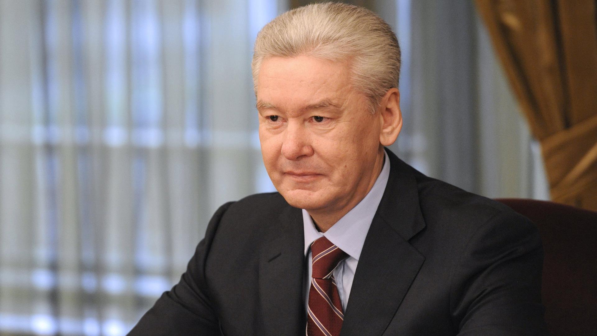 """Мэр Москвы: """"Каждый десятый пенсионер получает пенсию за счет москвичей"""""""