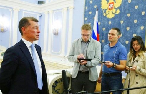 Министр труда и социальной защиты Российской Федерации Максим Топилин