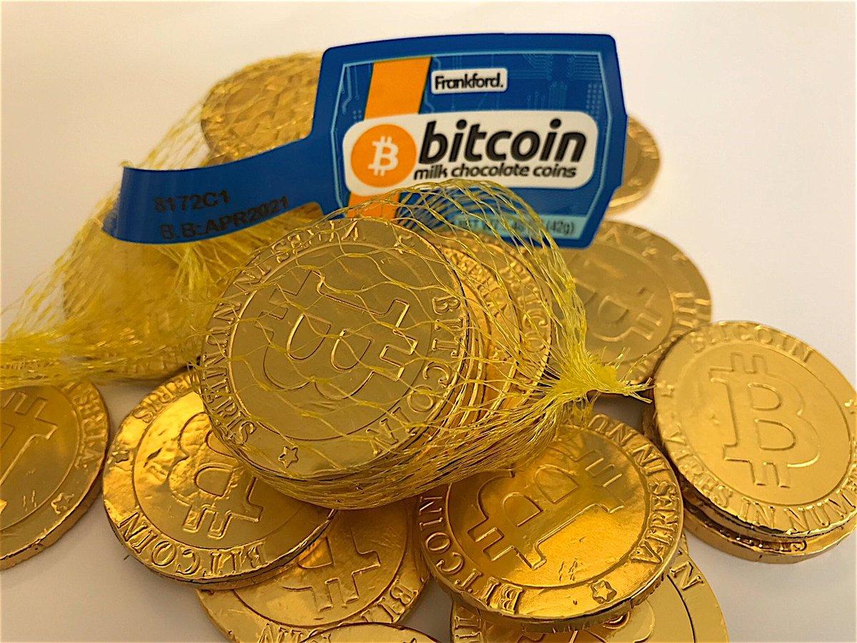 Walmart начал продавать шоколадные монеты Биткоины