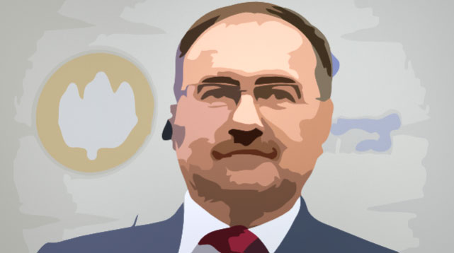 Глава ПФР Антон Дроздов © Иллюстрация Пенсиолог.ру