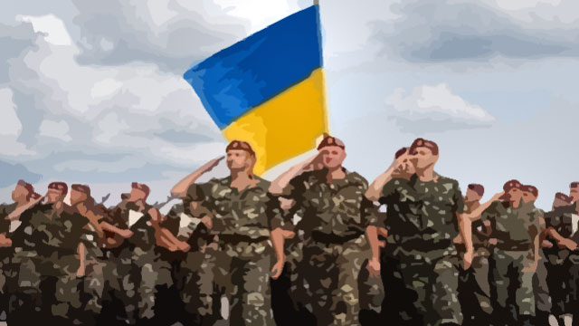 Пенсии военных пенсионеров в Украине