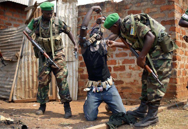 Нарушение прав человека в Центральноафриканской республике. Фото: Jerome Delay/AP