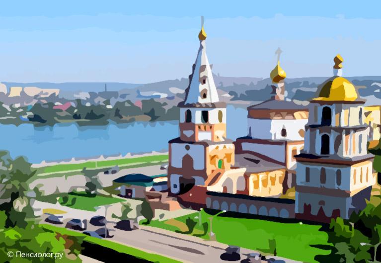 Иркутск © Иллюстрация Сергея Ермилова / Пенсиолог.ру